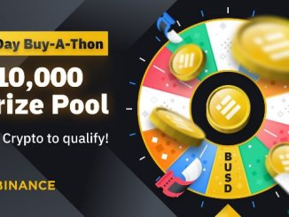 Binance Promotion Program - Win $10,000 In BUSD