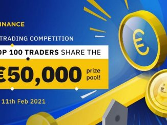 EUR Trading Competition On Binance - Win 50,000 EUR In Prizes