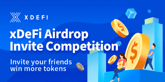 xDeFi Crypto Airdrop Campaign - Get Up To 10,000 XDEX Tokens Free