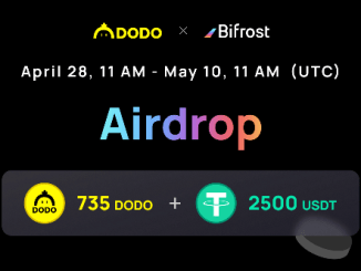 DODO And Bifrost Crypto Airdrop - Prizes Pool $5,000 Of USDT And DODO Tokens