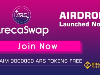 ArecaSwap Crypto Airdrop Campaign - Get Free 6 Million ARS Tokens