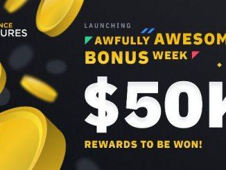 Binance Futures Is Launching Bonus Week Program