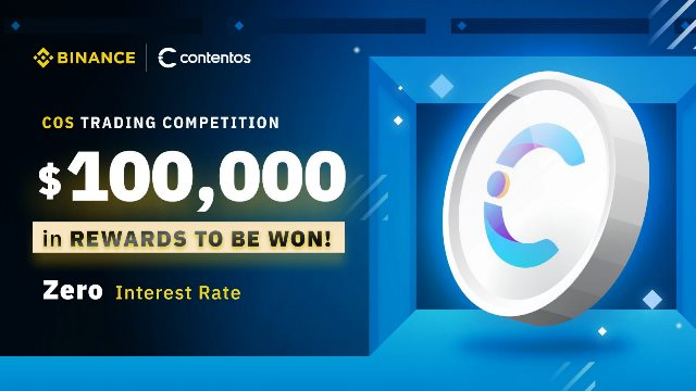 COS Trading Competition On Binance - Win $100,000 In COS Tokens
