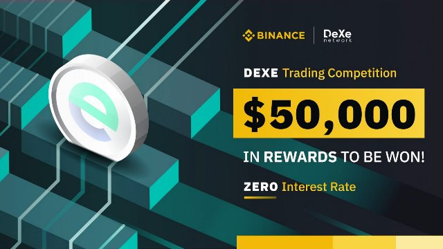 DEXE Trading Competition On Binance - $50,000 In Rewards To Be Won