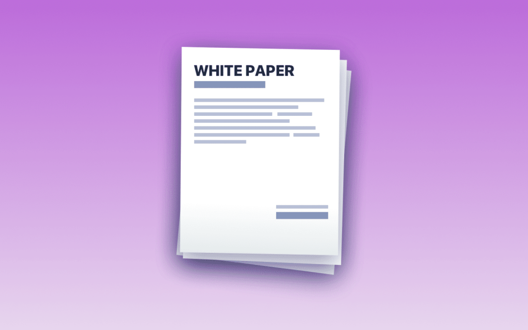 العملات الرقمية – مفهوم الورقة البيضاء