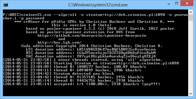Bitcoin Miner Windows 8