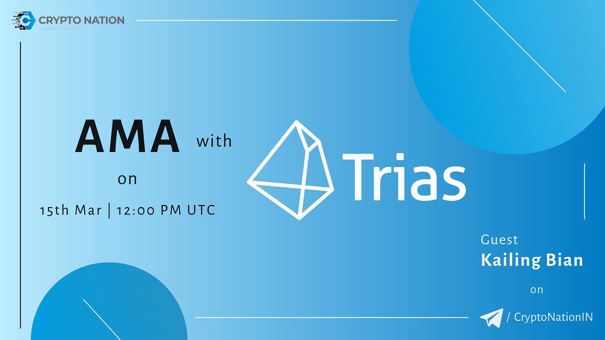 CryptoNationIN X TRIAS AMA