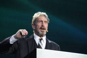 John McAfee's 'Unhackable' BitFi Hardware Wallet, Hacked. Fueling a 'Twitter War'