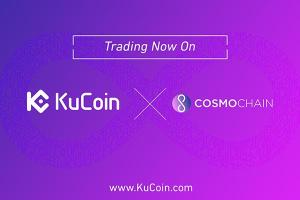KuCoin Listed Cosmochain (COSM) To Their State-Of-The-Art Platform
