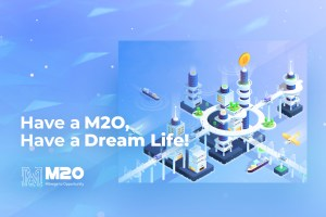 M2O brings blockchain pills to companies' headache