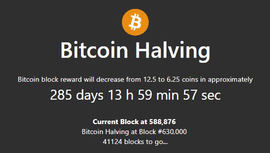 Halving-minQW