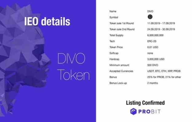 Divo- token 2
