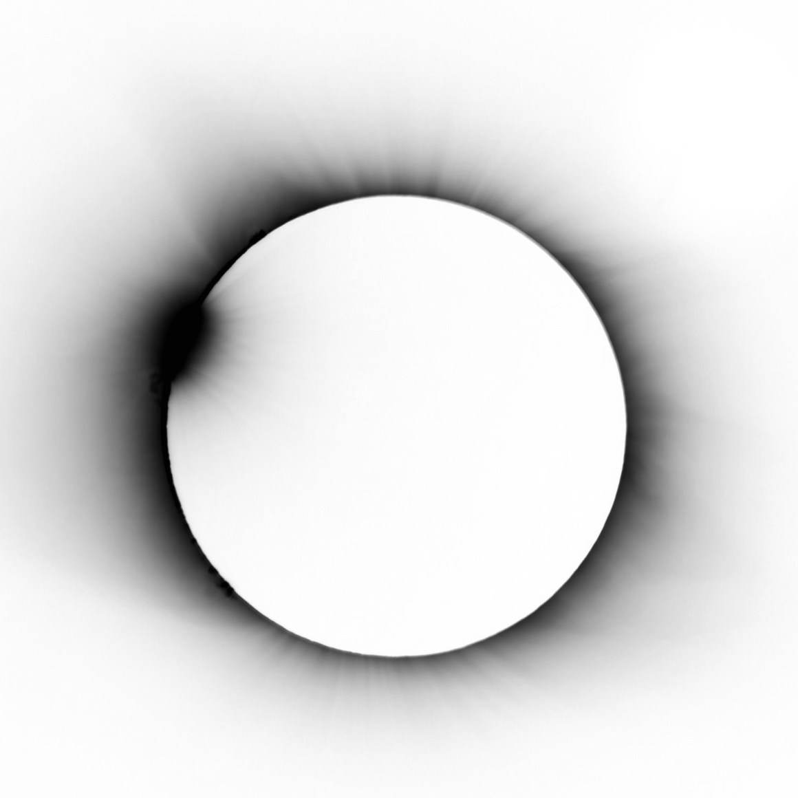 inverted eclipse
