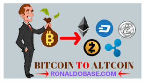 Exchange bitcoin to Altcoin