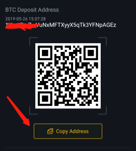 Binance Bitcoin Wallet Address