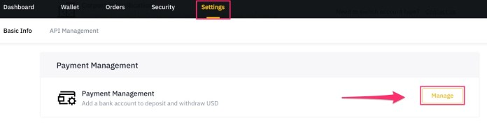 withdraw USD from Binance