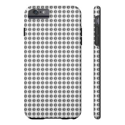 Bitcoin Pattern Phone Case