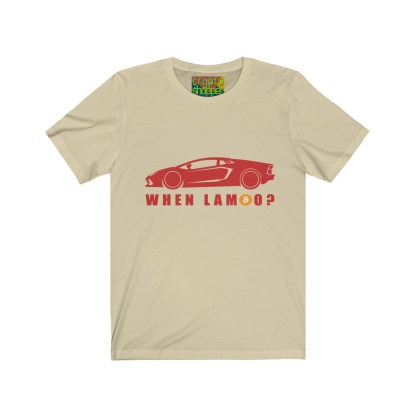 When Lambo? Unisex Crypto Short Sleeve T-Shirt