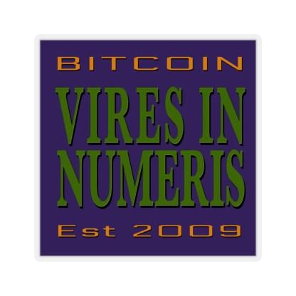 VIRES IN NUMERIS Crypto Stickers