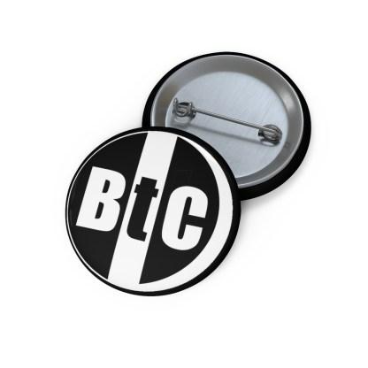 BtC Bitcoin Pin Button