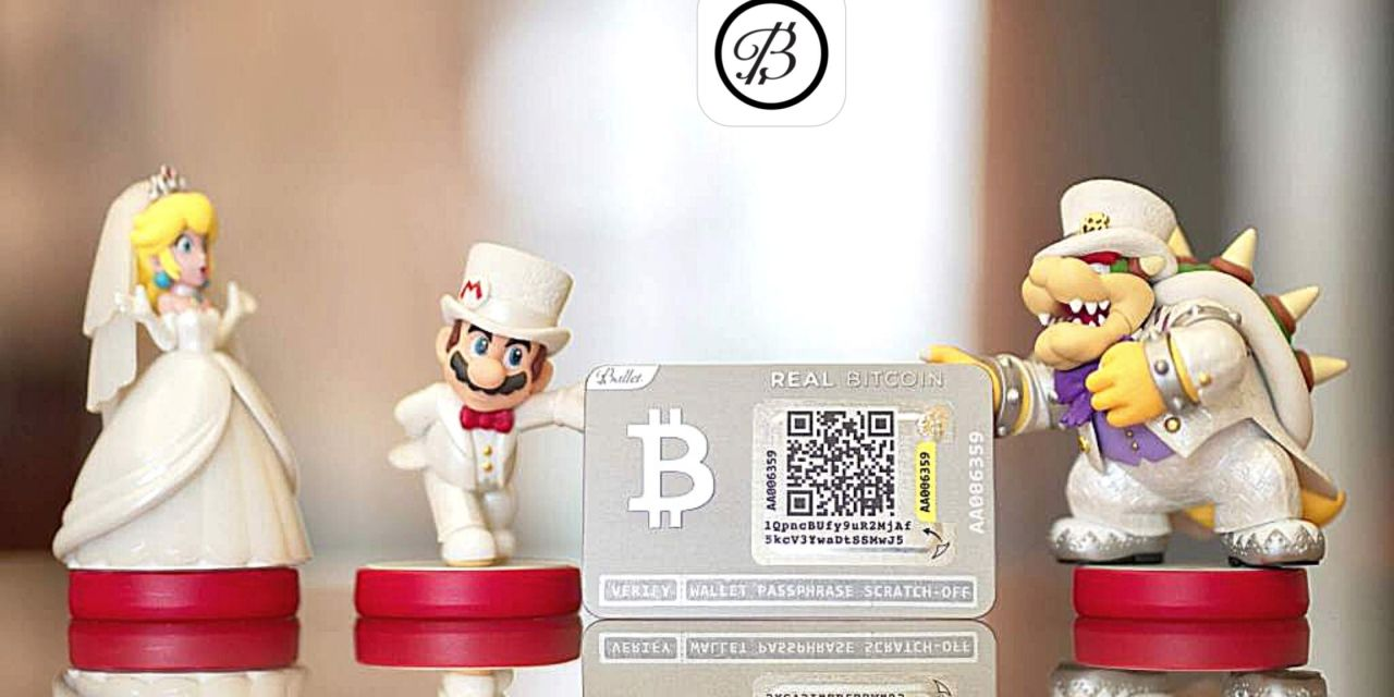 Ballet Wallet Review: The world's first non-electronic, multi-cryptocurrency hardware wallet