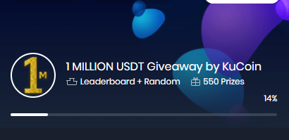 1 Million USDT Giveaway by KuCoin