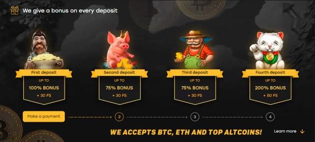 ฟรี bitcoin คาสิโนออนไลน์เครดิตไม่มีเงินฝาก