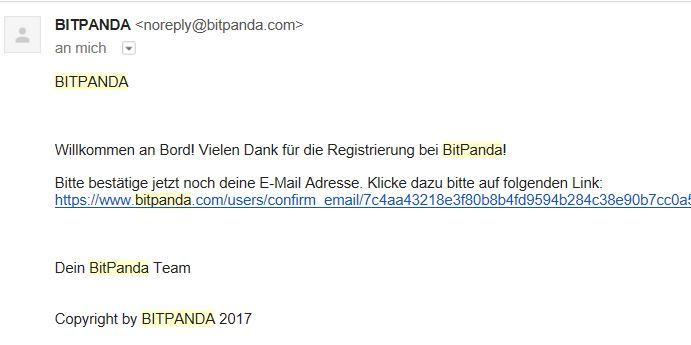 Email Freischalten