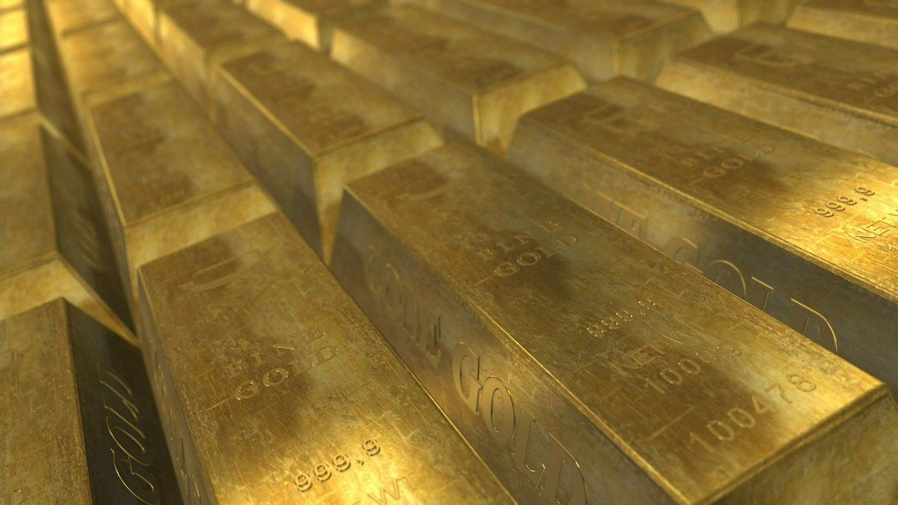 Bitcoin Goldbarren