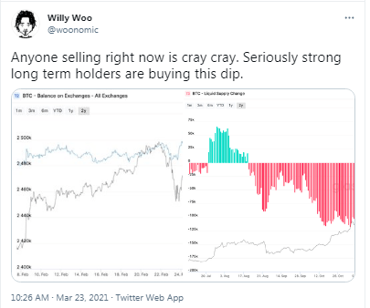 After BTC Slid by 14%, Onchain Analyst Says a US Based Institution Is Currently Buying the Dip