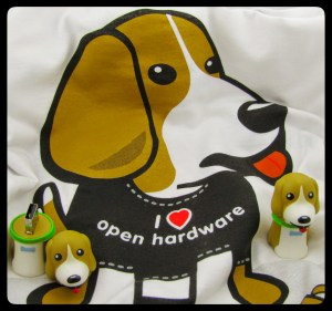 Thanks to BeagleBoard.org for providing the swag!