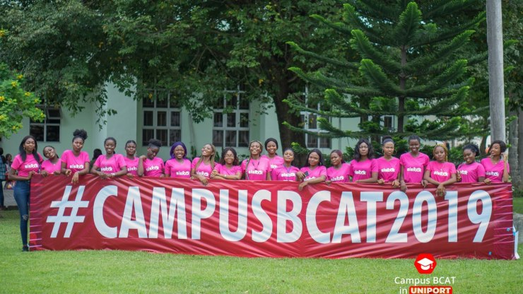 Campus BCAT 2019 at University of Port Harcourt