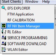 RF NV Item Manager