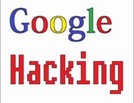Гуглохакинг, поиск критической информации с помощью google.