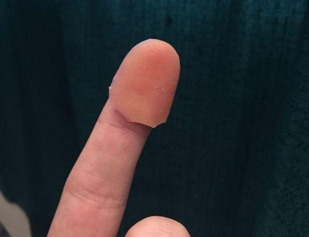 Накладной отпечаток пальца