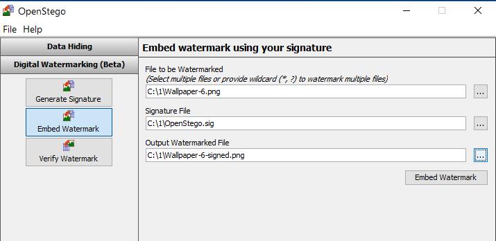 Создаем «водяной знак»
