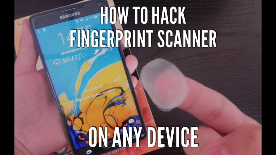 Картинки по запросу fingerprint scanner hack