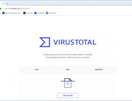 Руководство пользователя VirusTotal API