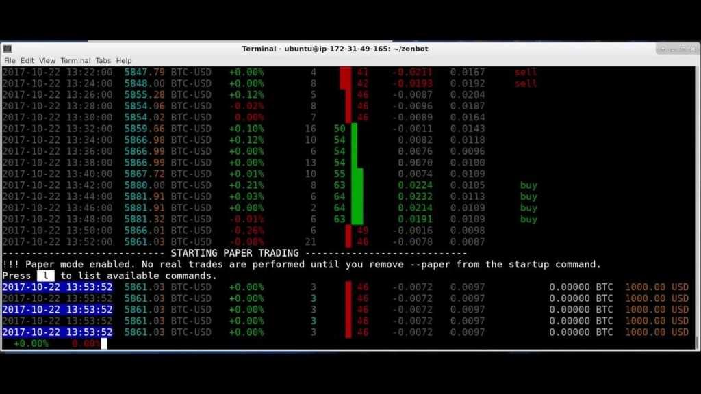 Zenbot Free Automatic Trading Bitcoin