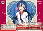 Secret Desire - LL/EN-W02-E111 - CR