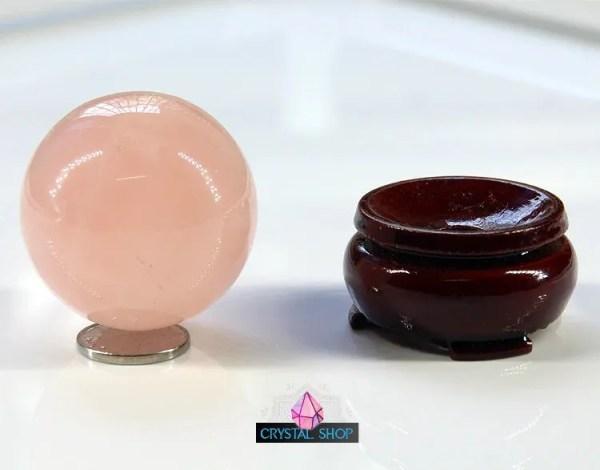 rose quartz crystal ball