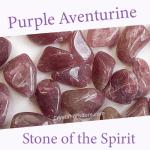 Purple Aventurine spiritual properties