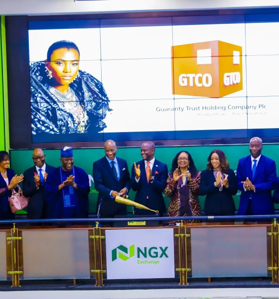 NGX Welcomes Guaranty Trust Holding Company Plc With Closing Gong Ceremony-Crystal News