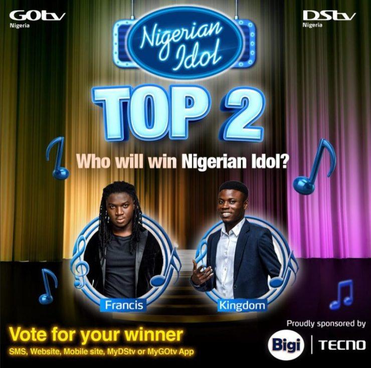 Who Will Win The Nigerian Idol Crown-Crystal News