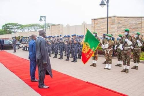 Ambassador Buratai Officially Resumes Office In Benin Republic-Crystal News