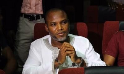 Nnamdi Kanu's Trial Adjourned Till November 10
