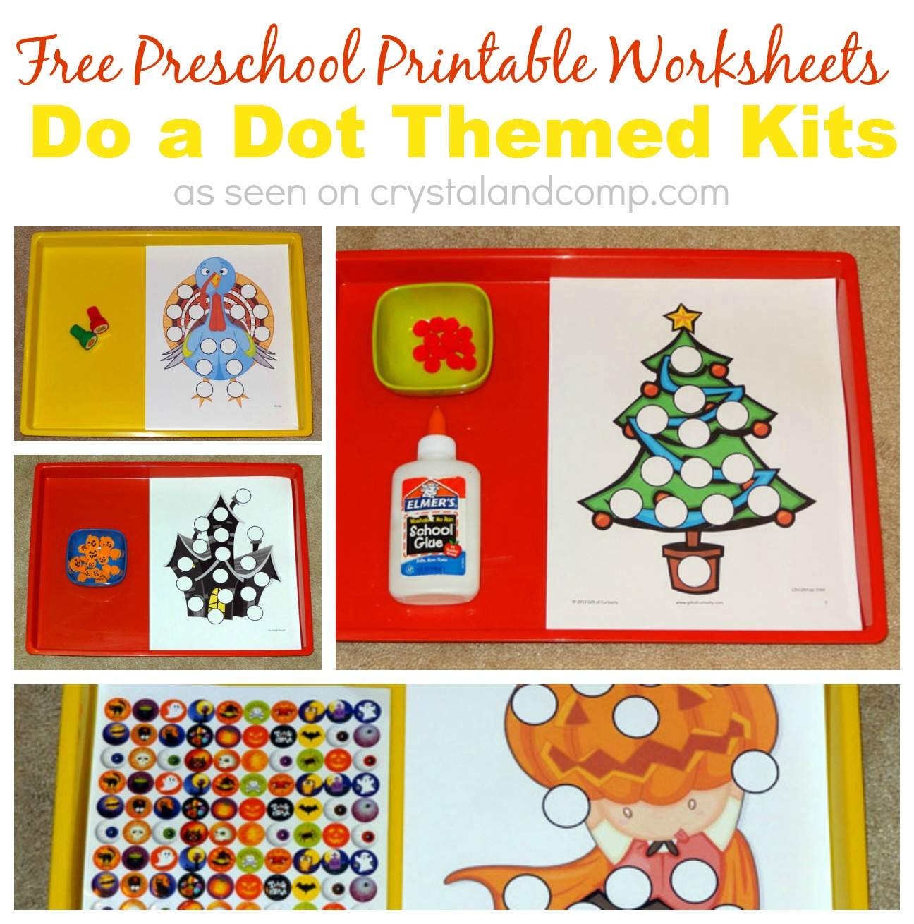 Free Preschool Printable Worksheets