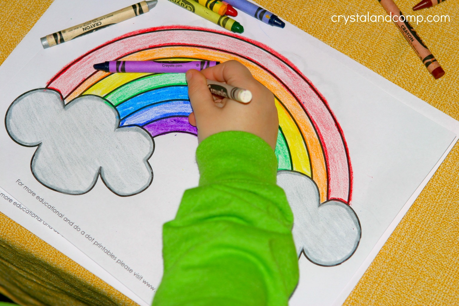 Kid Color Pages For St Patrick S Day