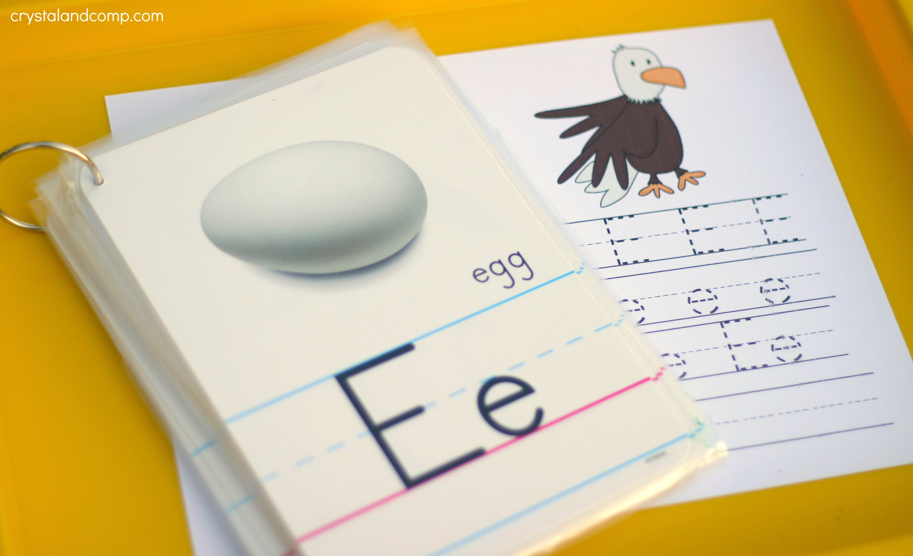 Handwriting Practice For Kids E Is For Eagle