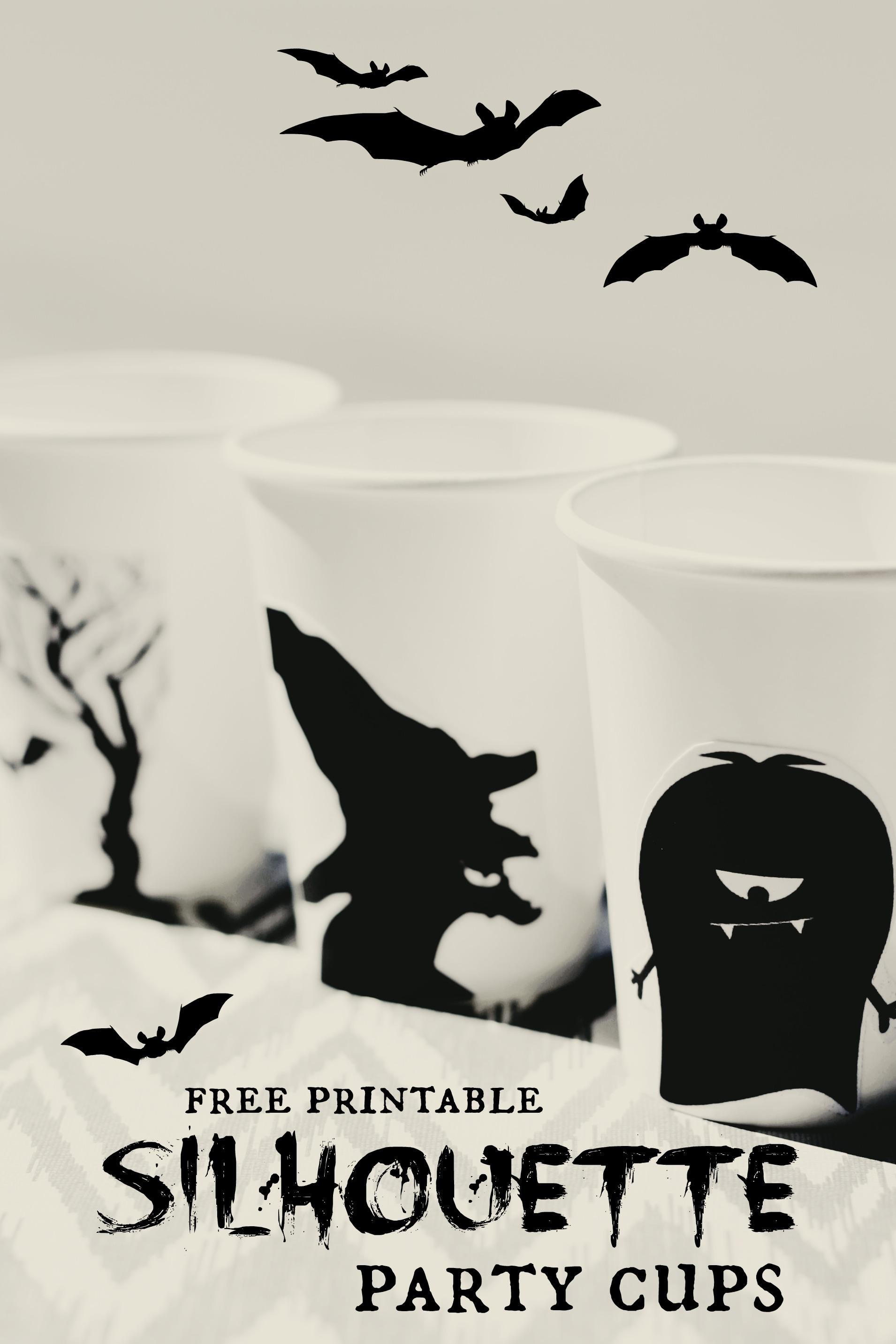 Free Halloween Silhouette Printables